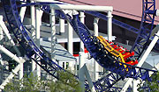 The In-Line-Twist leads directly through the vertical loop
